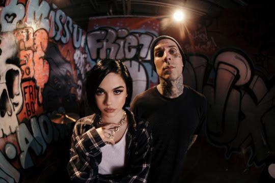 Maggie Lindemann & Travis Barker