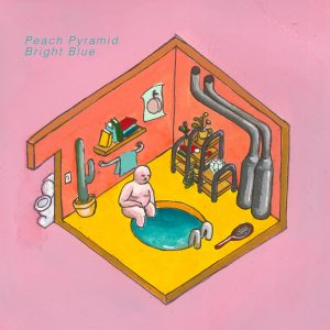 Peach Pyramid Bright Blue cover